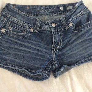 Miss Me  Shorts size 27 Good Used Condition